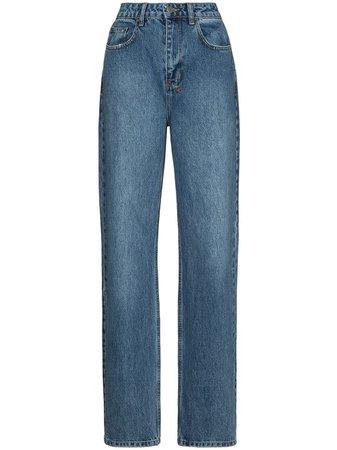 Ksubi high-waisted straight-leg Jeans - Farfetch