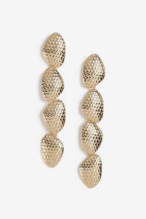 **Oval Drop Earrings | Topshop