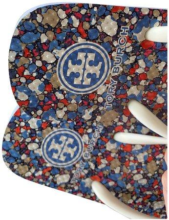 Blue Rubber Sandals