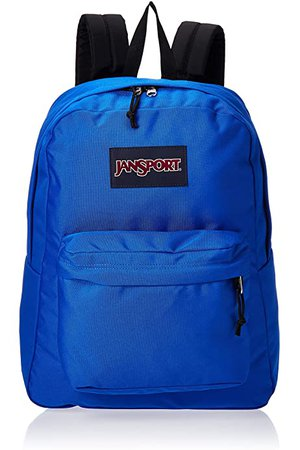 Amazon.com: JanSport SuperBreak Backpack Regal Blue: Clothing