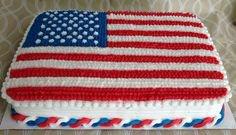 flag cake by Aingelcakes