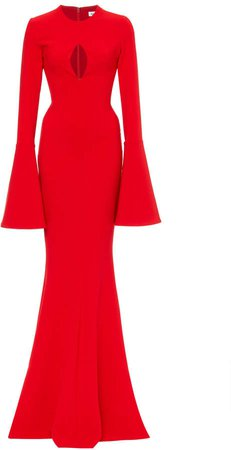 Aliétte Keyhole Fit And Flare Dress Size: 0