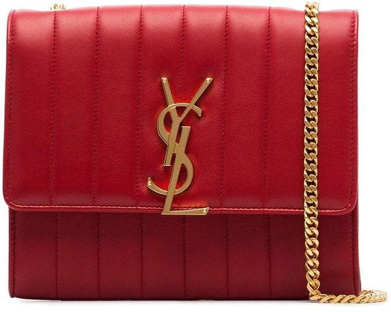 red vicky quilted leather clutch bag