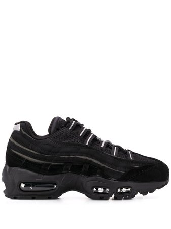 Nike X Comme Des Garcons Air Max 95 Sneakers CU8406001 Black | Farfetch
