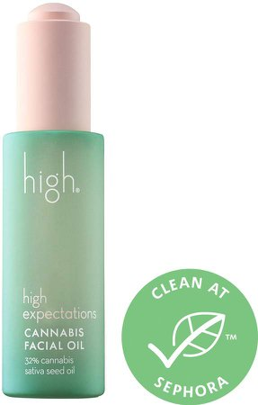 High Beauty - High Expectations Cannabis Seed Facial Oil