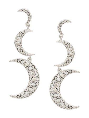 Isabel Marant Hanging Moon Earrings Ss20 | Farfetch.com