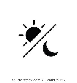 Day Night Icon Vector Stock Vector (Royalty Free) 1248925192