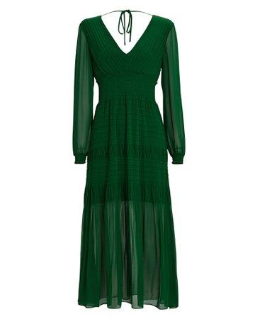 INTERMIX Private Label Smocked Midi Dress   INTERMIX®