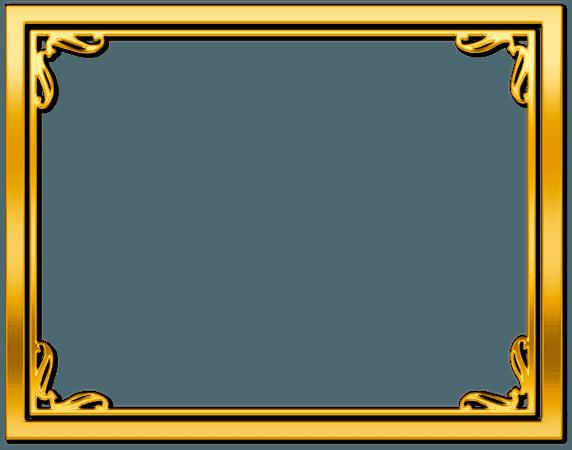 Gold Frame/Border