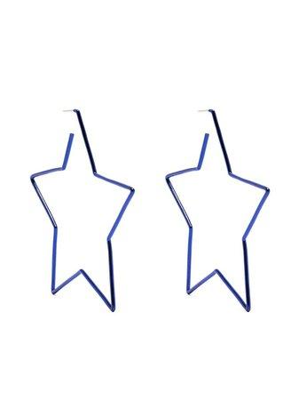 Isabel Marant star-shaped hoop earrings