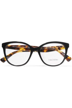 Valentino   Valentino Garavani D-frame acetate optical glasses   NET-A-PORTER.COM