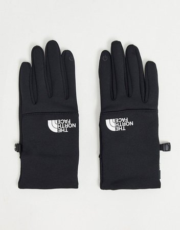 The North Face Etip recycled glove in black   ASOS