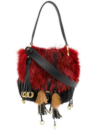 Prada Corsaire Fox Fur Shoulder Bag $4,200 - Buy SS18 Online - Fast Global Delivery, Price