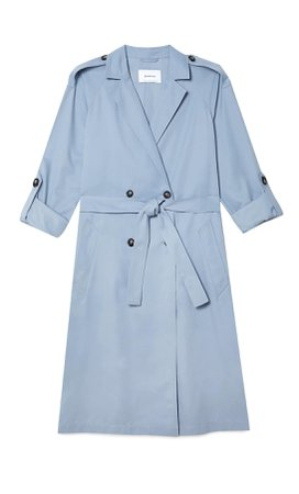 Long flowing trench coat - Women's Just in   Stradivarius United States