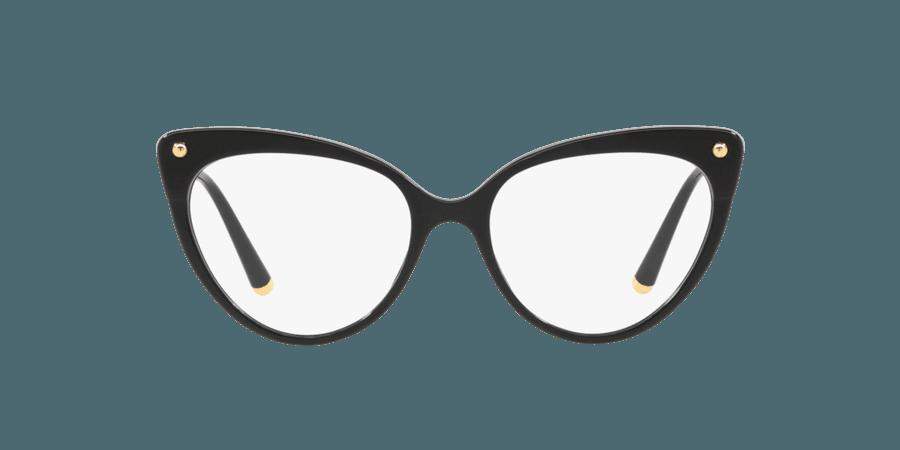 Dolce & Gabbana Black Cat Eye Eyeglasses at LensCrafters