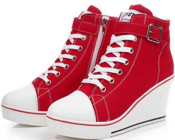 heel sneakers
