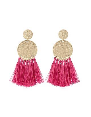 Accessorise pink earrings