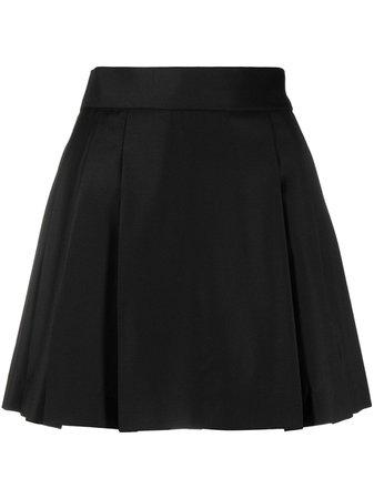 Natasha Zinko A-line mini skirt black SS21230601 - Farfetch
