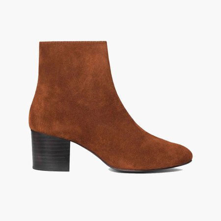 Women's 'Spice' Suede Paloma Bootie | Thursday Boot Company