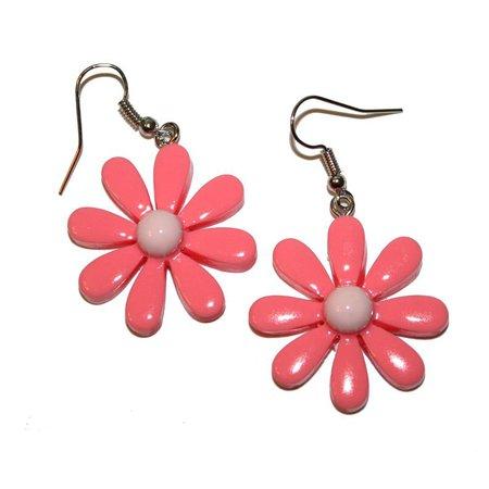 90s Inspired Daisy Earrings mod vintage inspired mod daisy | Etsy