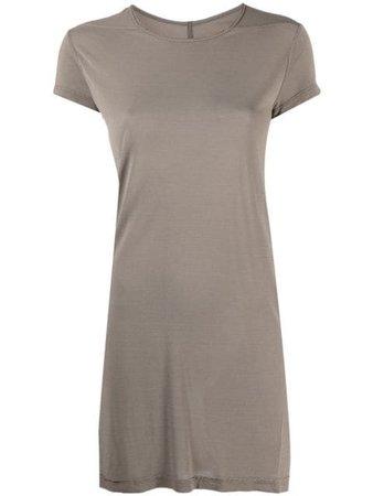 RICK OWENS long-length short-sleeved T-shirt RP21S3203JS - Farfetch