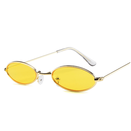 vintage yellow lens sunglasses