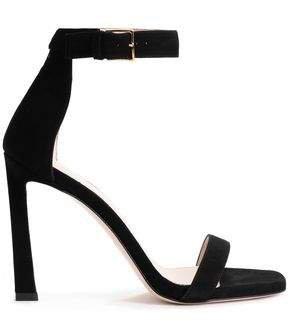 Cutout Suede Sandals