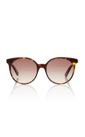 Gucci Acetate Round-Frame Sunglasses