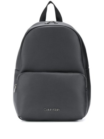 Calvin Klein zip-around Logo Backpack - Farfetch