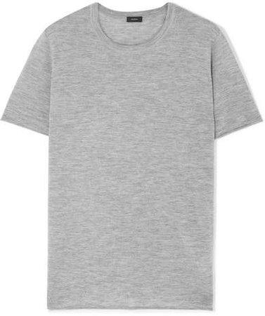 Cashmere T-shirt - Gray