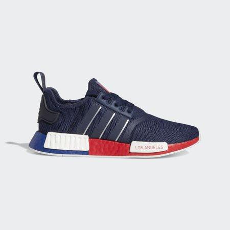 adidas NMD_R1 Los Angeles Shoes - Blue | adidas US