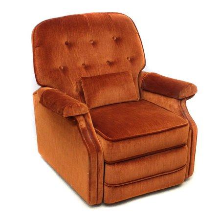 Vintage Reclining Armchair | EBTH