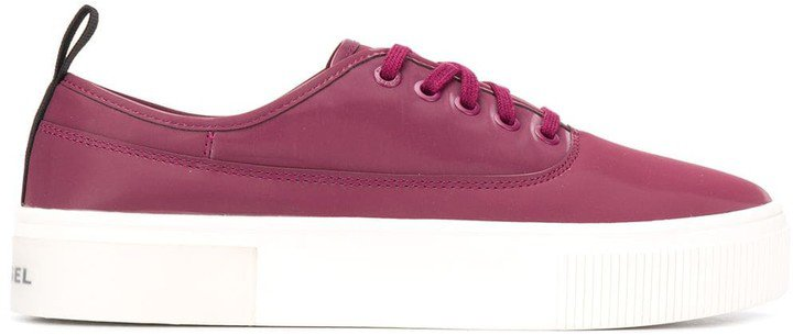 Chunky Sole Plimsoll Trainers