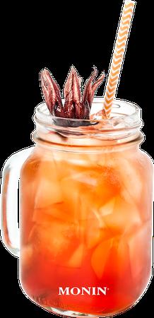 Orange Spritz Hibiscus Mocktail