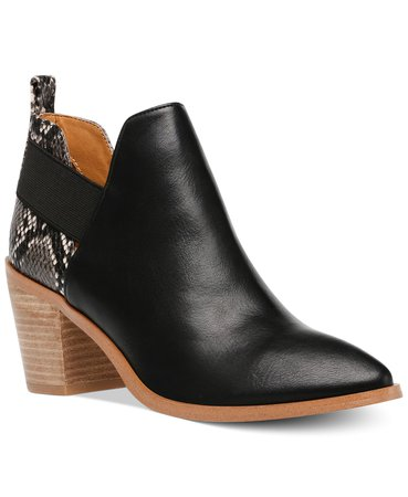 DV Dolce Vita Fig Ankle Booties & Reviews - Boots - Shoes - Macy's