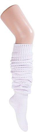 Lolita Charm Loose Socks 70 cm-White at Amazon Women's Clothing store