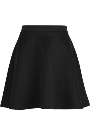 Basic Fit And Flare Skater Skirt | Boohoo