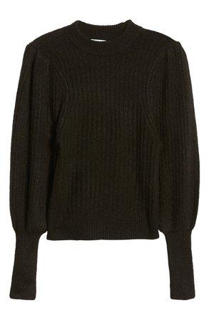 Leith Juliet Sleeve Sweater | Nordstrom