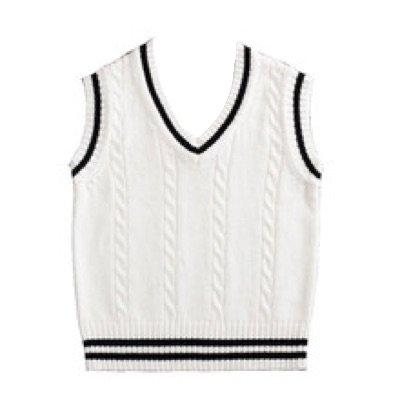 White Sweater Vest