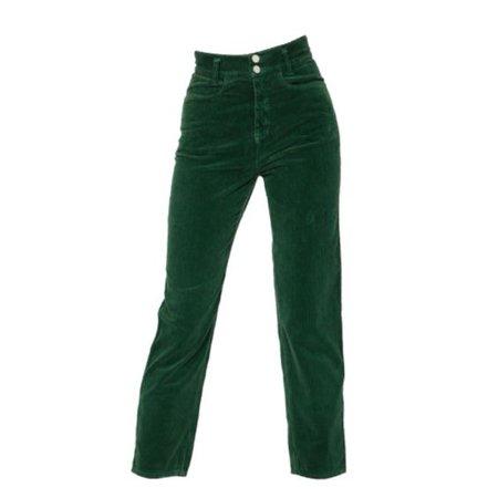 green pants png