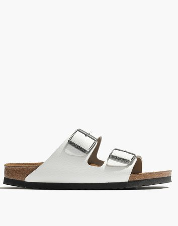 Birkenstock Arizona Sandals in White
