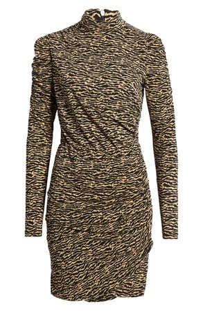 VERO MODA Jayda Long Sleeve Minidress | Nordstrom