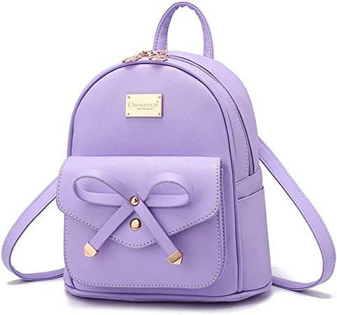 IHAYNER Mini Backpack with Ribbon