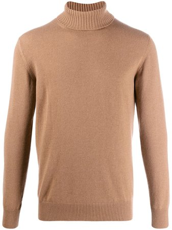 Eleventy Ribbed Turtleneck Jumper - Farfetch