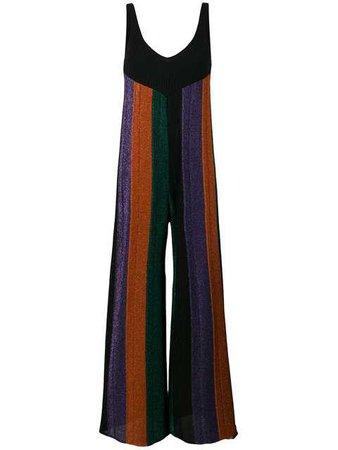Circus Hotel Glitter Striped Jumpsuit - Farfetch