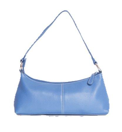 vintage blue bag