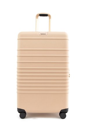 The Check-In Roller in Beige | Beis Travel – Béis Travel