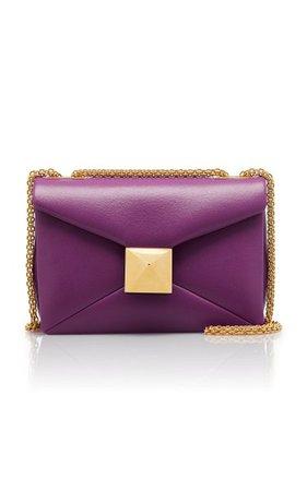 Valentino Garavani One Stud Leather Shoulder Bag By Valentino | Moda Operandi