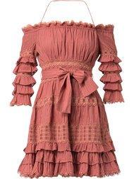Zimmermann Vestido Com Estampa Floral - Farfetch