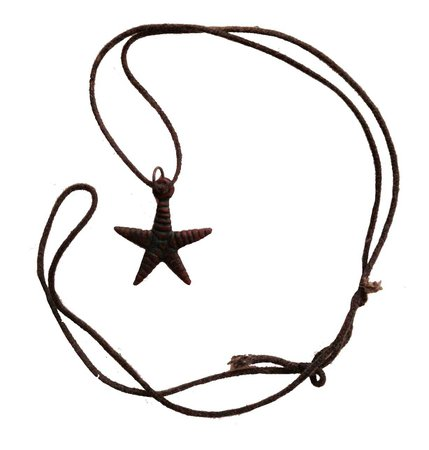 starfish cord necklace